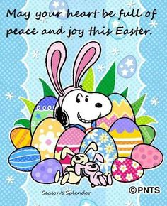 Snoopy ~ Easter