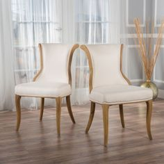 Fabric Dining Chair - A Collection by Anglina - Favorave