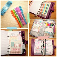 Look! It's another of my favourite stationery cases, in the middle pic on the right, woohoo!