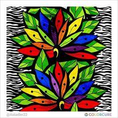 #flowers #art #therapy #adultcoloring #zebra #coloringbook #coloringappforadults #colorcure #adultcoloringbooks #비밀의정원컬러링북 #색칠공부 #healing #therapy #힐링 #치유 #색칠스타그램 #art #sketch #painting #print #nature #wild