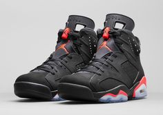 Jordan Brand has released official images for this year's massively anticipated Black Friday release — namely, the Air Jordan 6 Retro in the classic Black/Infrared colorway. The shoes have a special place in Jordan lore, as they were the kicks MJ wore when his Bulls team won … READ MORE