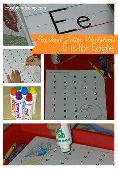 Do you homeschool or do some supplemental learning at home with your preschooler? As you know we homeschool and our little Matthew, who is four, is learning his alphabet. We use these preschool let...