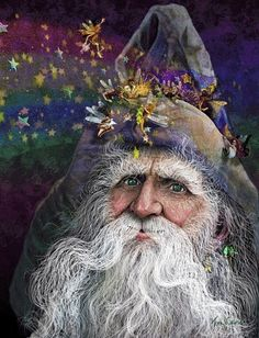 Winter Solstice:  #Winter #Solstice ~ the Holly King.