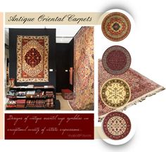 Antique Oriental Carpets and Fine Rugs...