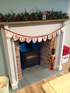 Double sided log burner with brick slips and polished limestone hearth Cottage Fireplace, Stove Fireplace, Fireplace Ideas, Double Sided Log Burner, Brick Hearth, Contemporary Front Doors, Narrowboat, Wood Burner, Mantles