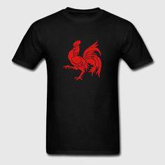 Wallon Rooster Kids' Shirts - Men's T-Shirt