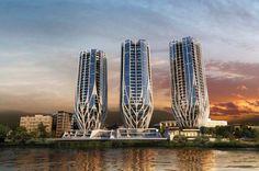 Courtesy of Zaha Hadid Architects & Sunland Group