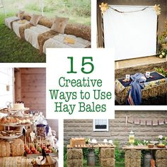 15 Creative Ways to Use Hay Bales