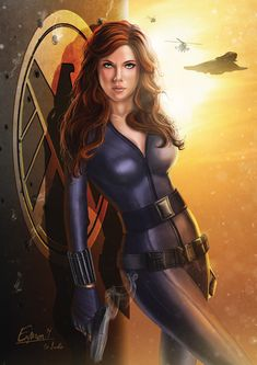 Black Widow by Eamon O'Donoghue