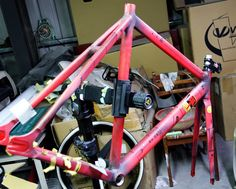 Bike custom painting art  AKIRA Style