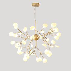 Chandelier Ambient Light Painted Finishes Metal Acrylic New Design Adorable Warm White / White KOKOAGE Circular Chandelier, Sputnik Chandelier, Chandelier Lighting, Chandeliers, Geometric Pendant Light, Fitted Bedrooms, Nordic Style, Paint Finishes, Light Painting