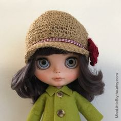 Un preferito personale dal mio negozio Etsy https://www.etsy.com/it/listing/487175130/hat-for-blythe-doll-sombrero-para-muneca