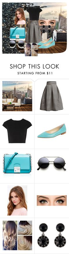 """Be yourself!"" by dzenita-219 on Polyvore featuring Walls Need Love, Rumour London, Alice + Olivia, Butter Shoes, Michael Kors, Lulu*s, Givenchy, women's clothing, women's fashion and women"