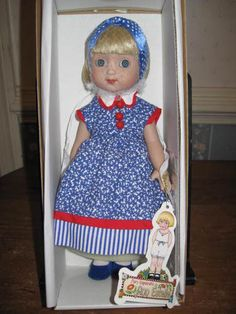 "Mary Engelbreit's Ann Estelle Doll ""Bluebird"" Mint RETIRED! 2000 - I have this doll.  She was the first Ann Estelle doll that I bought."
