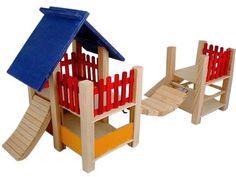 Wooden playground $29