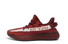 """Adidas Yeezy Boost 350 V2 """"Teach Red"""" DA9568"""