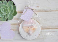 Galletas decoradas bautizos - Modelo Carita Bebé - Cukie Project