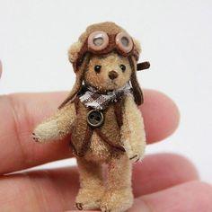 Miniature teddy bear ♡ ♡ by Nao Colle