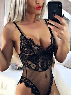 This off shoulder lace lingeries set is super sexy and feminine! Featuring a mesh patterned lace fabric, elastic lace body details, pretty panel. Show off the bralette top under a sheer shirt! Fashion Clothes Online, Fashion Outfits, Black Off Shoulder, Lace Lingerie Set, Mesh Bodysuit, Sheer Shirt, Falsies, Bralette Tops, Online Dress Shopping