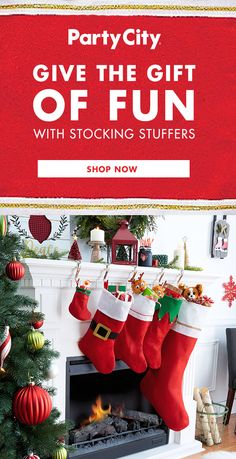 Find affordable Christmas gifts for friends, party favors for the kids, stocking stuffers for the whole family, and wrapping paper for holiday presents. Christmas Stocking Stuffers, Christmas Stockings, Christmas Décor, Christmas Ideas, Christmas Gifts For Friends, Christmas Decorations, Holiday Decor, Shop Plans, Gift Bags