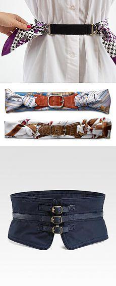 Шикарный пояс из платка, пояс-оби - модная изюминка, схемы, креативные идеи и много-много фотографий