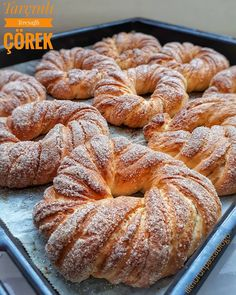Turkish Recipes, Italian Recipes, Cinnamon Butter, Food Words, Turkish Sweets, Turkish Breakfast, Bagel, Fresh Fruits And Vegetables, Family Meals