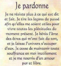 Le pardon Positive Attitude, Positive Vibes, Quote Citation, French Quotes, Love Quotes For Him, Positive Affirmations, Shakespeare, Cool Words, Life Quotes