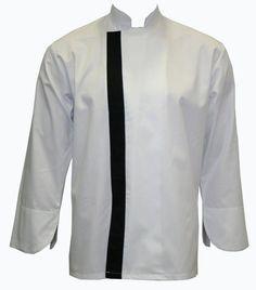 Chef Uniforms..Önden patlı model beyaz.