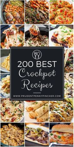 This is the ULTIMATE list of the best crockpot recipes so you will never need to go looking for crockpot recipes again! Crockpot recipes are my favorite dinners because they are cheap and easy to make. Most crockpot recipes don't require many ingredients Fall Crockpot Recipes, Crockpot Dishes, Crock Pot Slow Cooker, Crock Pot Cooking, Healthy Crockpot Recipes, Fall Recipes, Cooking Recipes, Best Crockpot Meals, Crock Pot Dump Meals
