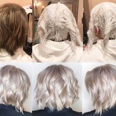 Insurance For Your Client& Hair. Push the envelope further without compromising the integrity of hair. Blonde Hair At Home, Blonde Hair Black Girls, Silver Blonde Hair, Bleach Blonde Hair, Best Bleach For Hair, Bleach Bath Hair, Toning Blonde Hair, Going Blonde From Brunette, Toner For Blonde Hair