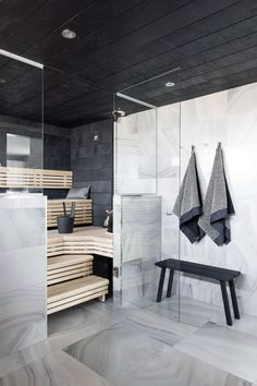 Moderne Sauna Design Ideen Bilder Moderne Sauna Design Ideen Bilder Related posts:Delicious chili stuffed sweet potato skins that make the perfect game. Sauna Infrarouge, Sauna Room, Saunas, Scandinavian Bathroom Inspiration, Design Sauna, Indoor Sauna, Spa Rooms, Home Spa, Modern