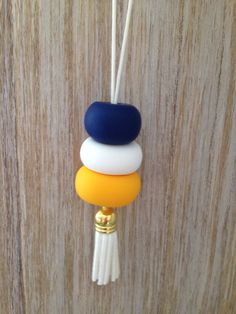 All beads are hand rolled using polymer clay or hand painted wooden beads. Please note, that due to being handmade, there may be slight variations