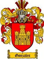 Gonzales Coat of Arms / Gonzales Family Crest
