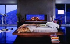 Cool bedroom via The Interiors on Facebook