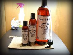 Beard Bath beard shampoo - Original - https://www.hobofresh.com/shop/beard-mustache/beard-bath-original/