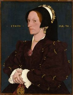 Follower Of Hans Holbein The Younger - Lady Lee (Margaret Wyatt, born about 1509)