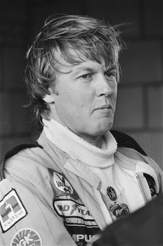 Ronnie Peterson, 1944-1978. Swedish racecar driver, died on the track at age 34.
