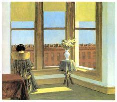 Edward Hopper - Room in Brooklyn (1932)