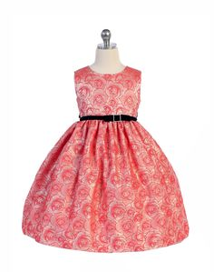 Girls Dress Style 333 - Sleeveless Floral Print Dress with Velvet Sash in Choice of Color  This dress is simply blooming with style. Every girl needs a floral print dress that she can wear to practically any event. We simply love this super cute sleeveless floral print dress because of its timeless style and beauty.  http://www.flowergirldressforless.com/mm5/merchant.mvc?Screen=PROD&Product_Code=CK_333CO&Store_Code=Flower-Girl&Category_Code=New