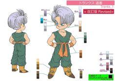 Dragon Ball Ossu! Kaette Kita Son Gokū to Nakama-tachi - Model Sheet 047   by Kami Sama Explorer Museum
