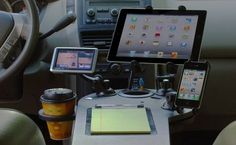 Superbe #DIYmarketing #officespace Set Up A Mobile Office And Desk In Your Car