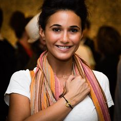 I chose FLOW because I have so many amazing things going on, lots of great challenges that I don't want to resist or be in fear... just flow in the magic of my life. My Intent- Emmanuelle Chriqui @echriqui at @inqlife show DTLA