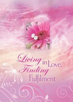 Living in Love, Finding Fulfilment  Joyce Meyer Book