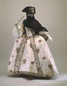 Robe à la Française, 1765-70, British: