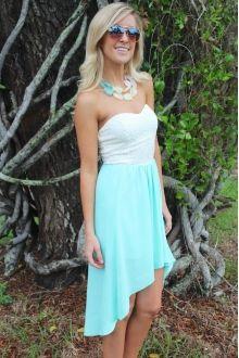 Mint Hi Lo Dress $29.99 #sophieandtrey #highlow #mint #dress