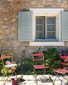 Beige/sand, blue, pink and yellow  Home & Garden: Ma sélection déco de la semaine #15