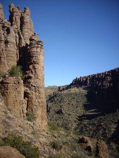Devil's Canyon in Arizona