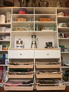 Custom pantry - traditional - kitchen - boston - Marie Newton, Closets Redefined |  Adjustable shelves