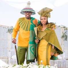 African clothing & shweshwe dresses 2019 - style you 7 Sotho Traditional Dresses, South African Traditional Dresses, Traditional Wedding Attire, African Print Dresses, African Print Fashion, African Fashion Dresses, African Dress, African Clothes, Ankara Dress