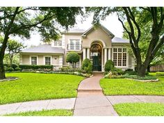 Willow Bend Polo Estate at 5905 Crownover Court in Plano, Texas. #dreamhome #fabulous #ebbyppp